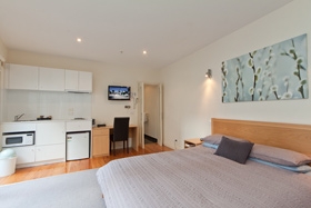 Studio Apartment at Sixty Two On Grey